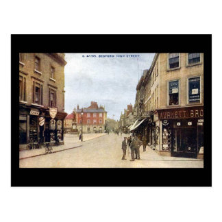 Old Postcard, Bedford High Street Postcard