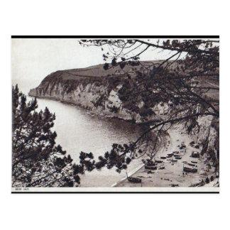 Old Postcard - Beer Bay, Devon