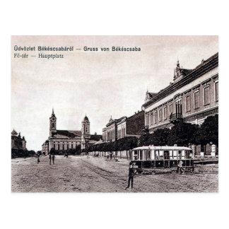 Old Postcard - Békéscsaba, Hungary