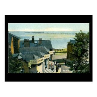 Old Postcard - Bent Hill, Felixstowe, Suffolk