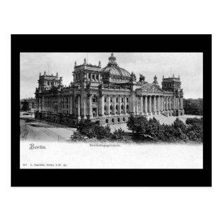 Old Postcard, Berlin, Reichstag Postcard