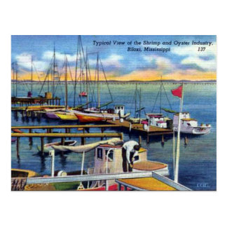Old Postcard - Biloxi, Mississippi, USA