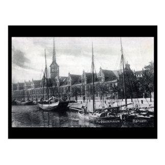 Old Postcard - Borsen, Copenhagen