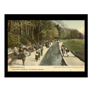 Old Postcard - Bournemouth Pleasure Gardens