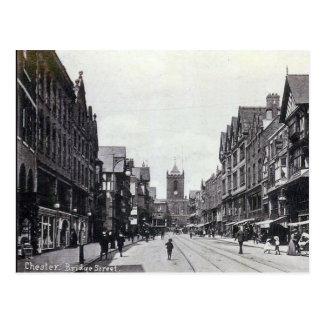 Old Postcard - Bridge Street, Chester