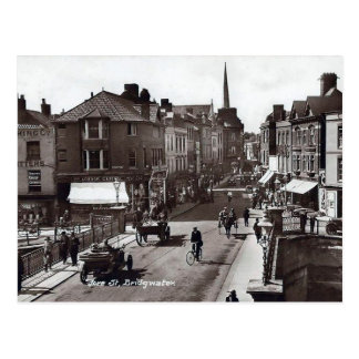 Old Postcard - Bridgwater, Somerset