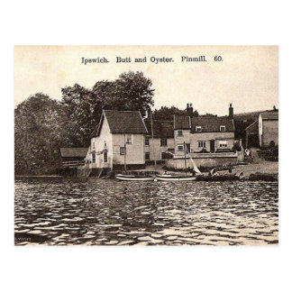 Old Postcard - Butt and Oyster, Pin Mill, Ipswich