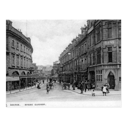 Old Postcard - Buxton, Derbyshire