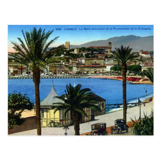 Old Postcard - Cannes