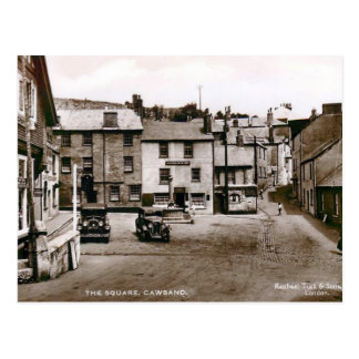 Old Postcard - Cawsand, Cornwall