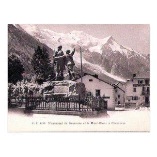 Old Postcard - Chamonix et Mont Blanc