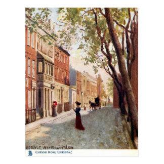 Old Postcard - Cheyne Row, Chelsea