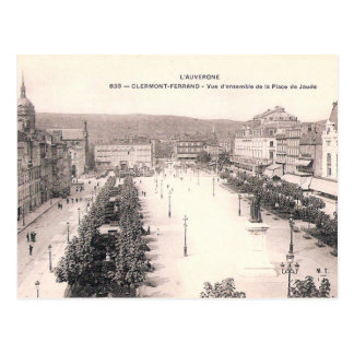 Old Postcard - Clermont-Ferrand, France
