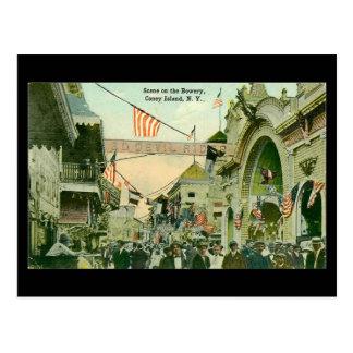 Old Postcard - Coney Island, New York City