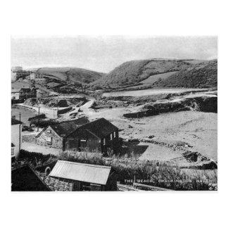 Old Postcard - Crackington Haven, Cornwall