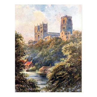 Old Postcard - Durham Cathedral
