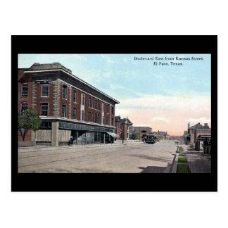 Old Postcard - El Paso, Texas