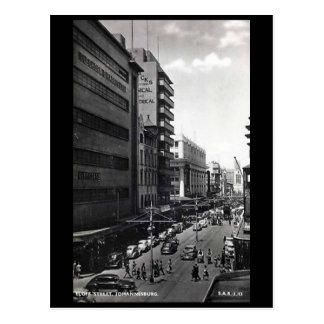 Old Postcard - Eloff Street, Johannesburg