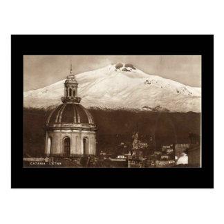 Old Postcard, Etna Postcard