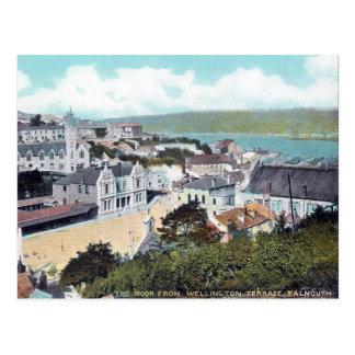 Old Postcard - Falmouth, Cornwall