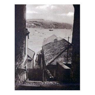Old Postcard -Falmouth, Cornwall