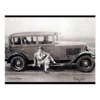Old Postcard - Foujita