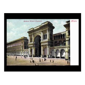 Old Postcard - Galleria Vittorio Emanuele