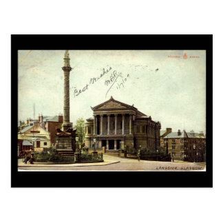 Old Postcard, Glasgow, Langside Postcard