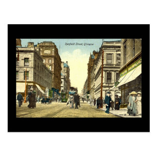 Old Postcard, Glasgow, Renfield Street, 1918 Postcard
