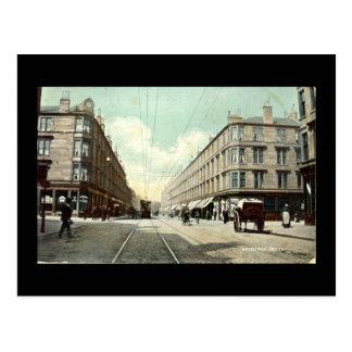 Old Postcard, Glasgow, Whiteinch Cross in 1910 Postcard