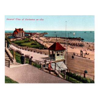 Old Postcard - Gorleston-on-Sea, Norfolk