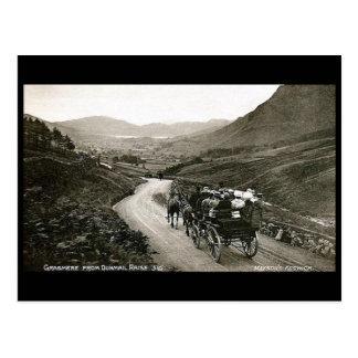 Old Postcard - Grasmere, Cumbria