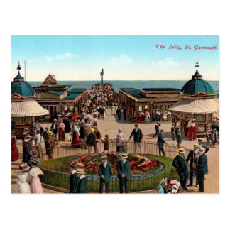 Old Postcard - Great Yarmouth, Norfolk