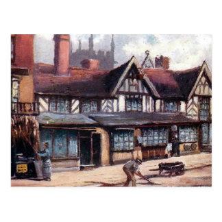 Old Postcard - Greengate Street, Stafford