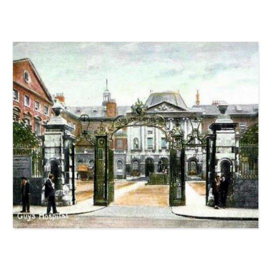 Old Postcard - Guy's Hospital, London