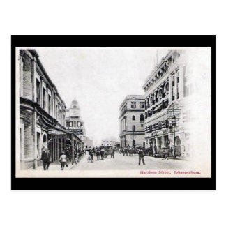 Old Postcard - Harrison Street, Johannesburg