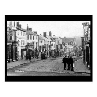 Old Postcard - Helston, Cornwall