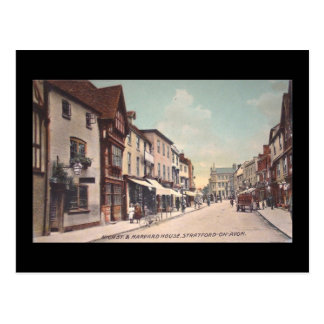 Old Postcard, High Street, Stratford-upon-Avon Postcard