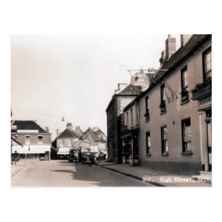 Old Postcard - Holt, Norfolk