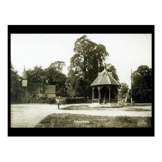 Old Postcard - Ickenham, London