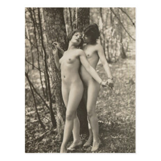 Old Postcard, Intimate Friends Postcard