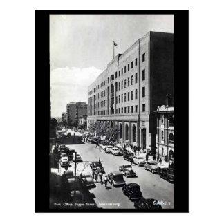 Old Postcard - Jeppe Street, Johannesburg