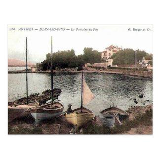 Old Postcard - Juan les Pins, Alpes Maritimes