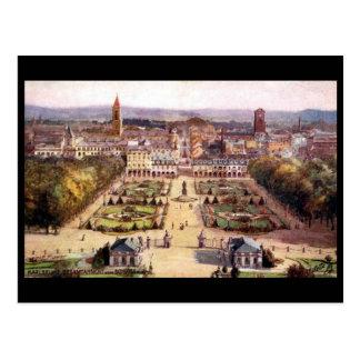 Old Postcard - Karlsruhe, Germany