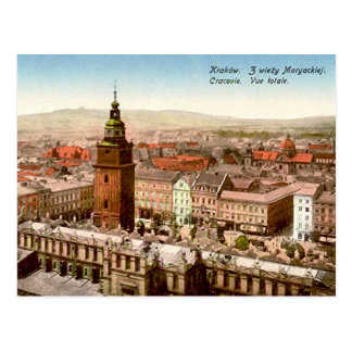 Old Postcard - Krakow, Poland