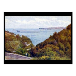 Old Postcard - Lincombe Drive, Torquay