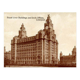Old Postcard - Liverpool