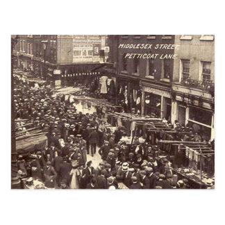 Old Postcard - London, Petticoat Lane