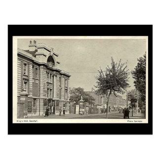 Old Postcard, London, Southall, King's Hall Postcard