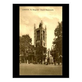 Old Postcard, London, St Margaret's, Westminster Postcard